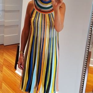 Missoni pleated multi-color dress